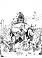 Кокена. Рисунок Липпе Мендозы