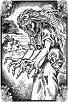 Коровья смерть. Иллюстрация Надежды Антиповой