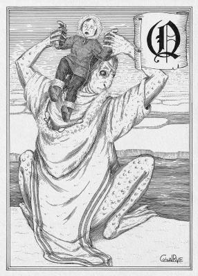 Калупалик. Иллюстрация Юлии Широниной (CoalRye)