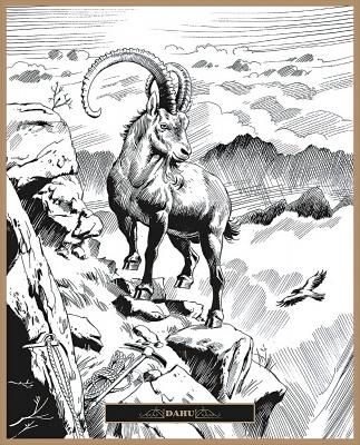 Даху. Иллюстрация Клаудио Санчеса Вивероса