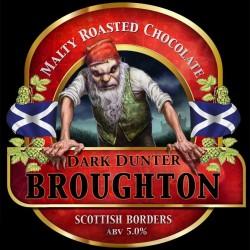 Темный дантер. Этикетка шотландского пива с иллюстрацией Ника Харриса