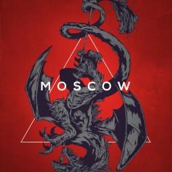 Интерпретация герба Москвы от иллюстратора Ивана Беликова