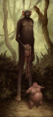 Бораро. Иллюстрация Диего де ла Роса
