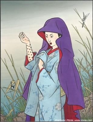 Додомэки. Иллюстрация Мэтью Мэйера