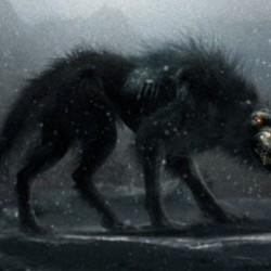 """Адский пёс. Кадр из фильма """"300"""""""