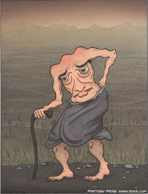 Доноцура. Иллюстрация Мэтью Мэйера