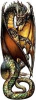 Картина Гюстава Кируэло Кабрала с изображением дракона