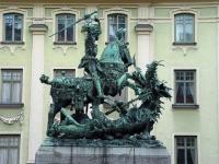 """Стокгольмский """"Святой Георгий и Дракон (Sankt Goran och Draken)"""" работы Б.Нотке"""