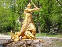 """Фонтан """"Богатырь"""" в Ростове-на-Дону"""