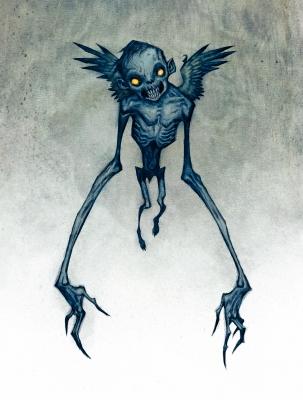 Дрекавац. Иллюстрация Юхана Эгеркранса
