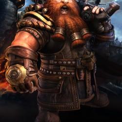 Гном (дварф) из онлайн-игры Forsaken World
