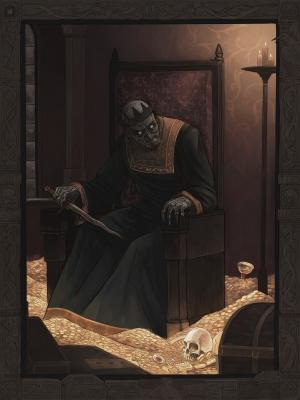 Кощей Бессмертный. Иллюстрация Эмиля Султанова