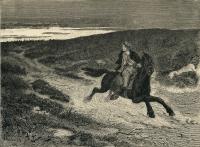 Сын вдовы (Enkesønnen). Гравюра Отто Синдинга к норвежской сказке