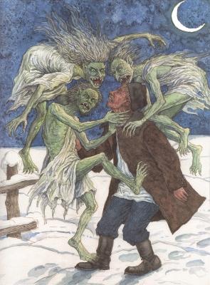 Ератники. Иллюстрация Валерия Славука