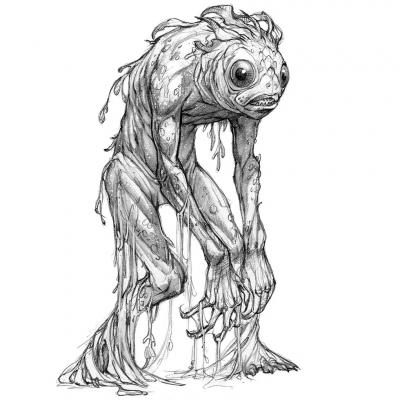 Калупалик (Qualluipilluk). Иллюстрация Евы Вайдерманн