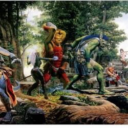 """Everquest The Ruins of Kunark"". Картина Кита Паркинсона"