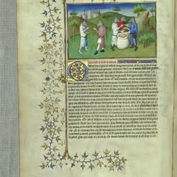 Кинокефалы Андаманских островов. Рукопись Французской Национальной библиотеки (MS Français 2810, fol. 76v.)