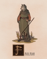 """Фоэла. Иллюстрация Натана Андерсона (Nathan J. Anderson, """"Deimos-Remus"""")"""