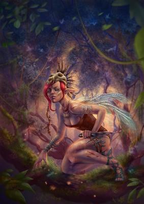 Fairies Strike Back. Art by Vasylina