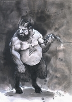 Фавн. Иллюстрация Мигеля Зуппо