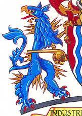 Кейсонг. Фрагмент герба Halton council