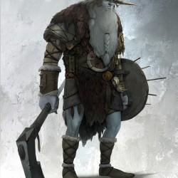 Инеистый великан. Иллюстрация Руди Сисванто
