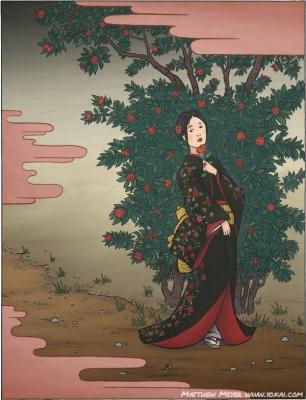 Фуруцубаки-но рэй. Иллюстрация Мэтью Мэйера