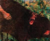 """Гаркаин. Иллюстрация Марка Лангенекерта из книги """"Сказания ужасов"""" (серия """"Зачарованный мир"""")"""
