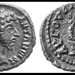 Гликон на монете Марка Аврелия