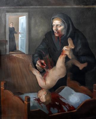 Грюла. Иллюстрация Трандура Тораринссона (Þrándur Þórarinsson)