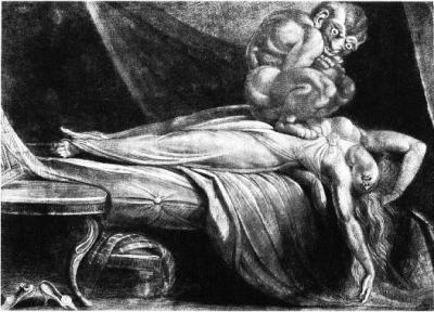 Инкубус. Средневековая иллюстрация
