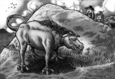 Аракабора. Иллюстрация Ричарда Свенссона