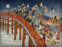 Ночной парад сотни демонов. Иллюстрация Юко Симидзу