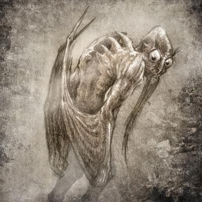 Хапун. Рисунок Евгения Кота