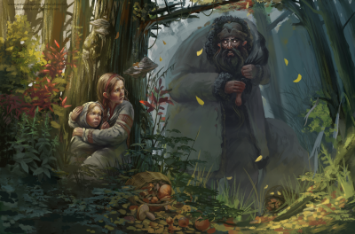 Хапун. Иллюстрация Алеси Шериковой