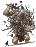 Гекатонхейр. Иллюстрация из бестиария AD&D
