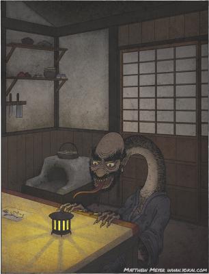 Химамуси-нюдо. Иллюстрация Мэтью Мэйера