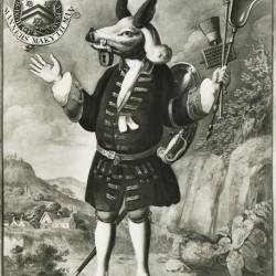 """""""Верный слуга"""". Изображение Иркоцервуса из Винчестерского колледжа"""