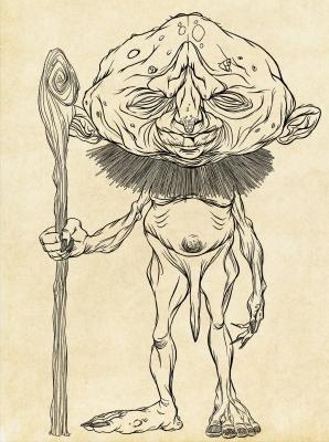 Абура-сумаси (Abura Sumashi). Рисунок Хиро Кавахара