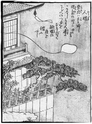Хитодама. Иллюстрация Ториямы Сэкиэна