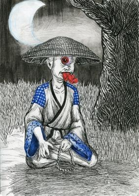 Хитоцумэ-кодзо. Рисунок Натальи Немченко