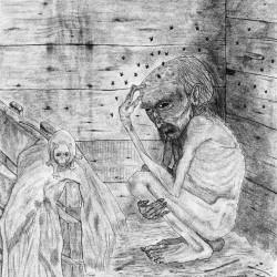 Хлевник. Рисунок Валентина Дельвесто