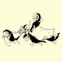 Хобьи. Иллюстрация Джона Баттена к одноименной английской сказке