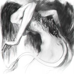 Хульдра. Рисунок Тобиаса Квана