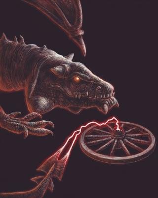 Хут. Рисунок Артура Басака