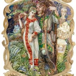 Вовкулак. Иллюстрация Виктора Королькова