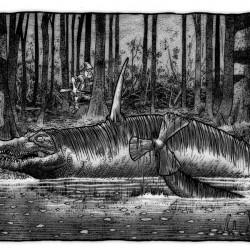 Снолигостер. Иллюстрация Ричарда Свенссона