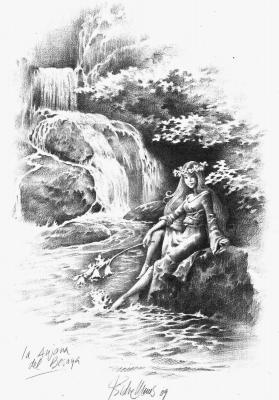 Анхана. Иллюстрация Исидре Монеса