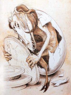 Инклюз. Иллюстрация Витольда Варгаса (Witold Vargas)