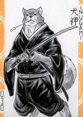 Инугами. Иллюстрация Лукаса Перейры